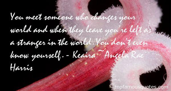 Angela Rae Harris Quotes