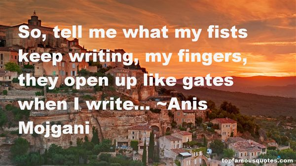 Anis Mojgani Quotes