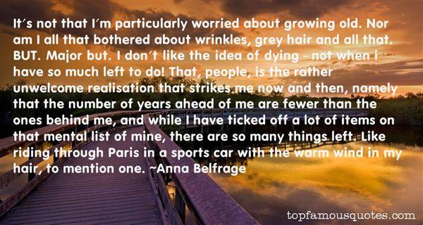 Anna Belfrage Quotes