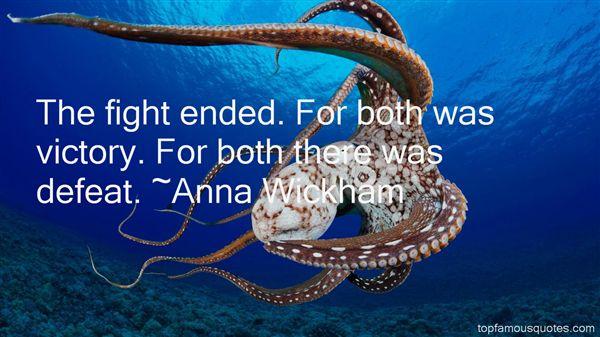 Anna Wickham Quotes