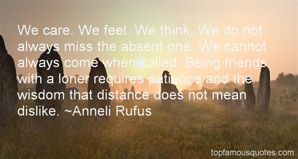 Anneli Rufus Quotes