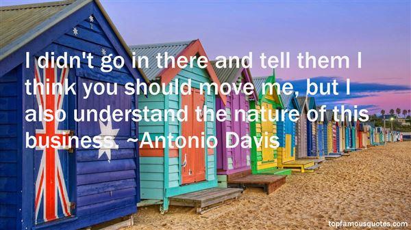 Antonio Davis Quotes