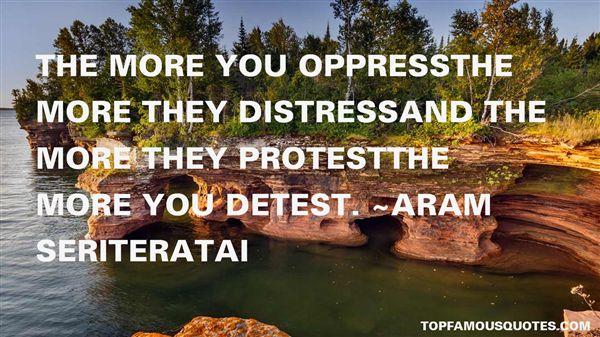 Aram Seriteratai Quotes