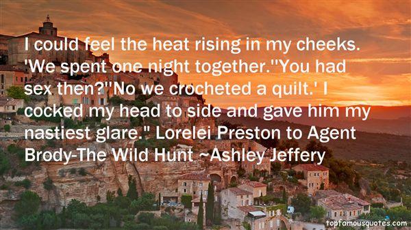 Ashley Jeffery Quotes