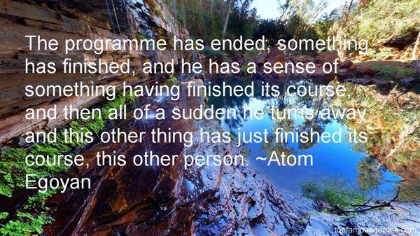 Atom Egoyan Quotes