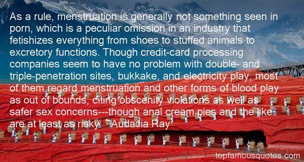 Audacia Ray Quotes