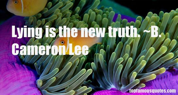 B. Cameron Lee Quotes
