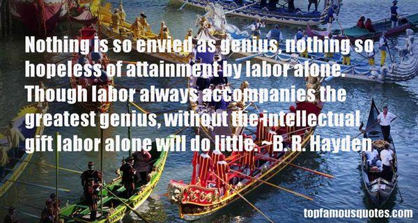 B. R. Hayden Quotes