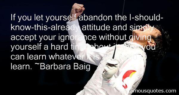 Barbara Baig Quotes