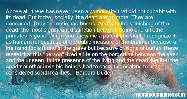 Barbara Duden Quotes