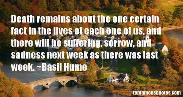 Basil Hume Quotes