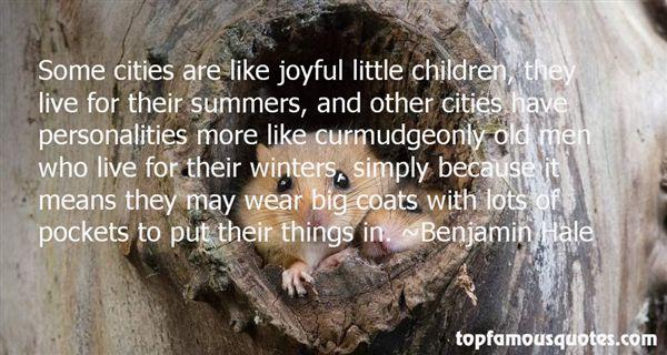 Benjamin Hale Quotes