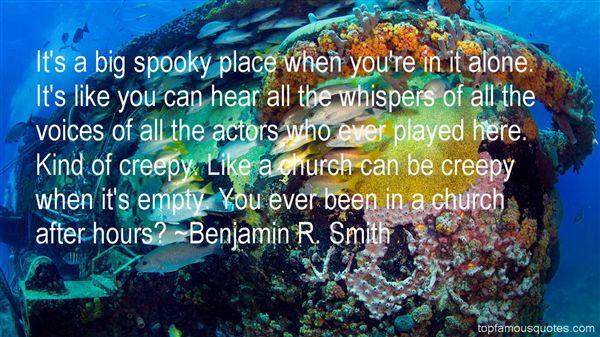 Benjamin R. Smith Quotes