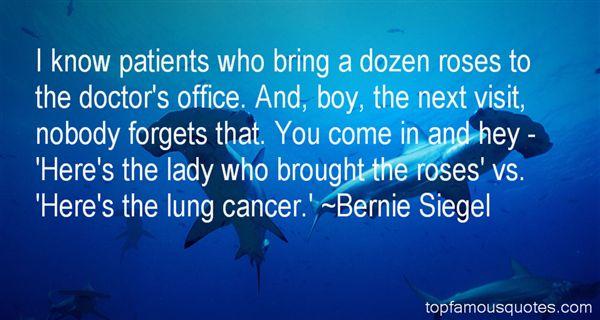 Bernie Siegel Quotes
