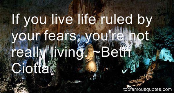 Beth Ciotta Quotes