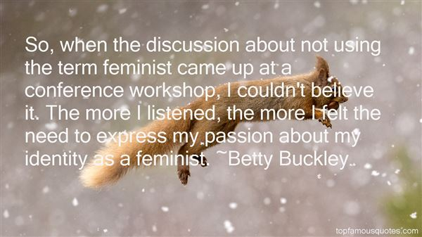 Betty Buckley Quotes