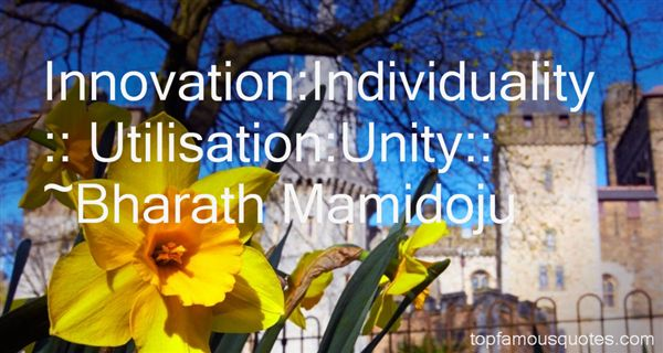 Bharath Mamidoju Quotes