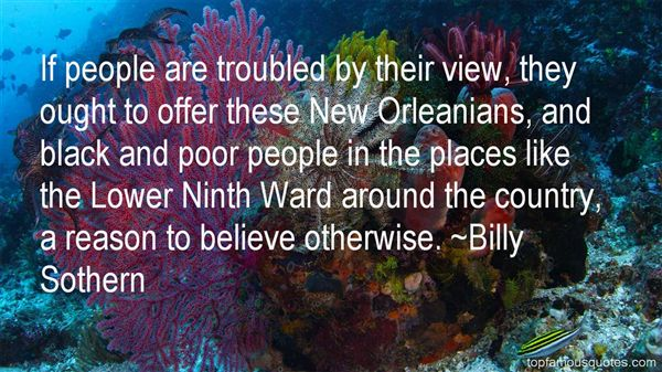 Billy Sothern Quotes