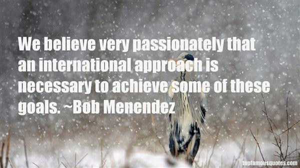 Bob Menendez Quotes