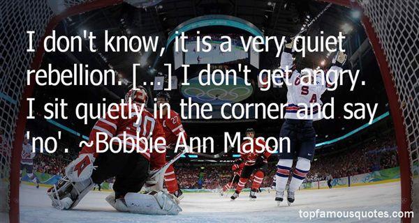 Bobbie Ann Mason Quotes