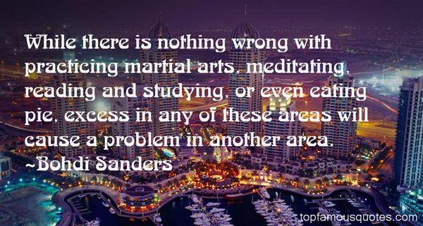 Bohdi Sanders Quotes