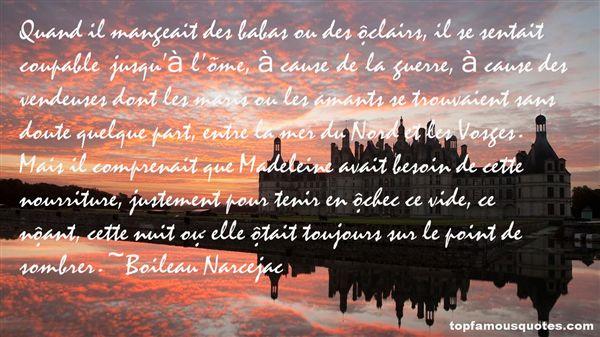 Boileau Narcejac Quotes