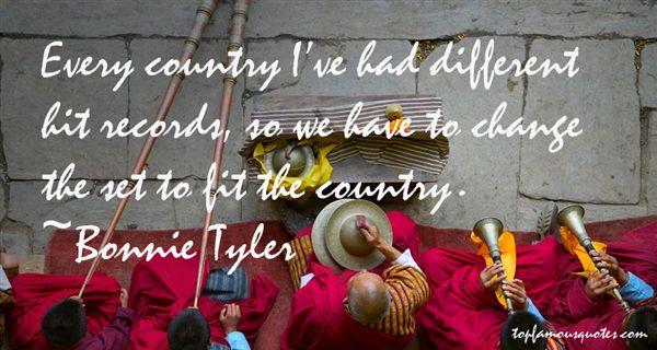 Bonnie Tyler Quotes