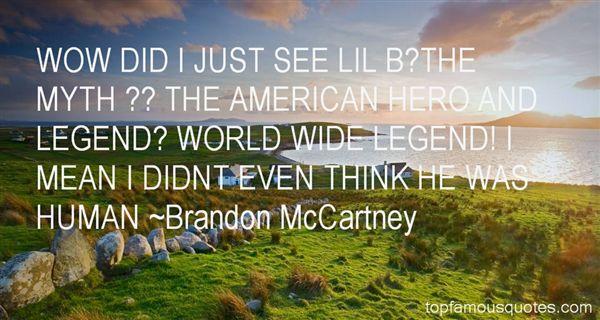 Brandon McCartney Quotes