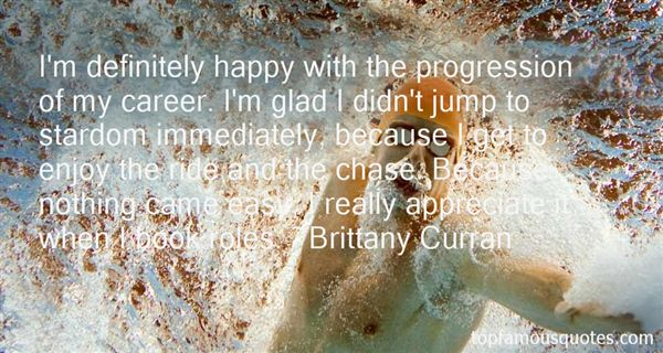 Brittany Curran Quotes