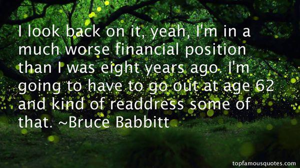 Bruce Babbitt Quotes