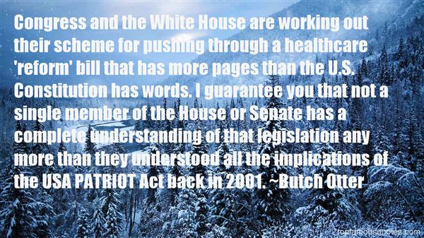 Butch Otter Quotes