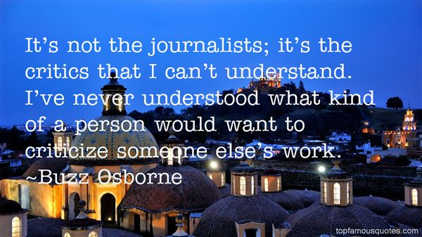 Buzz Osborne Quotes