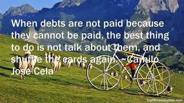 Camilo Jose Cela Quotes
