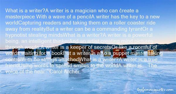 Carol Archer Quotes