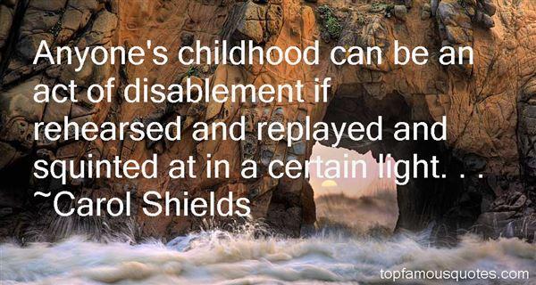 Carol Shields Quotes
