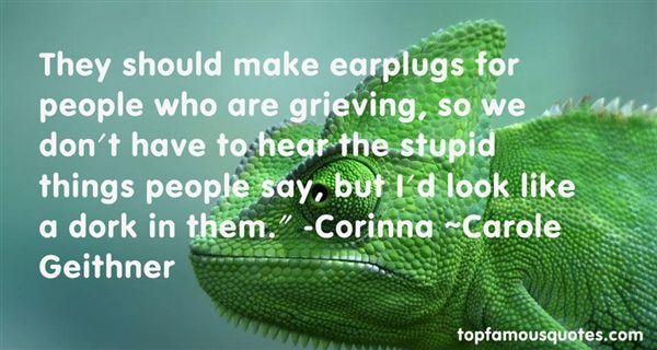 Carole Geithner Quotes