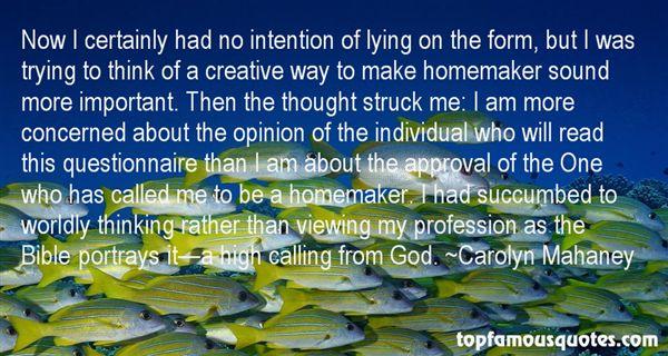 Carolyn Mahaney Quotes