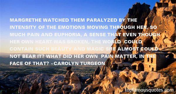 Carolyn Turgeon Quotes