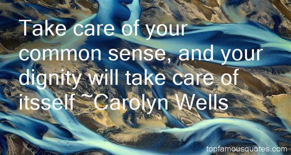 Carolyn Wells Quotes