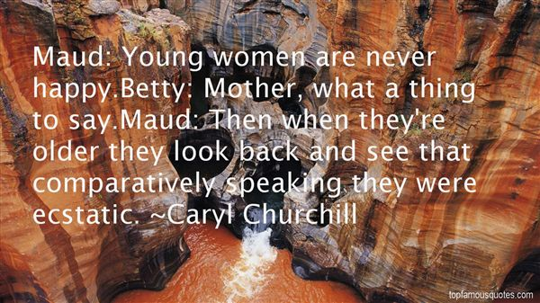 Caryl Churchill Quotes