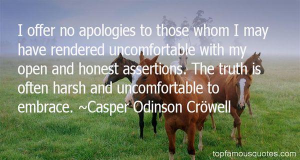 Casper Odinson Cröwell Quotes