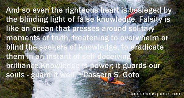 Cassern S. Goto Quotes