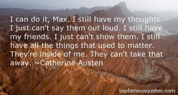 Catherine Austen Quotes