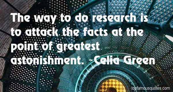 Celia Green Quotes