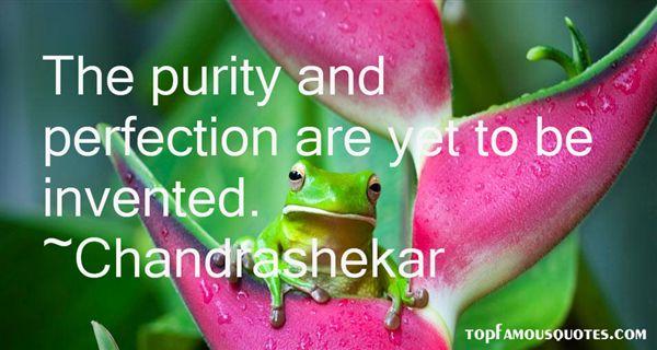 Chandrashekar Quotes