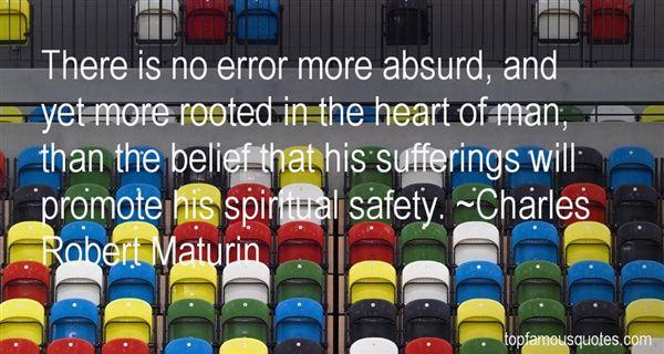 Charles Robert Maturin Quotes