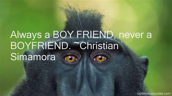 Christian Simamora Quotes