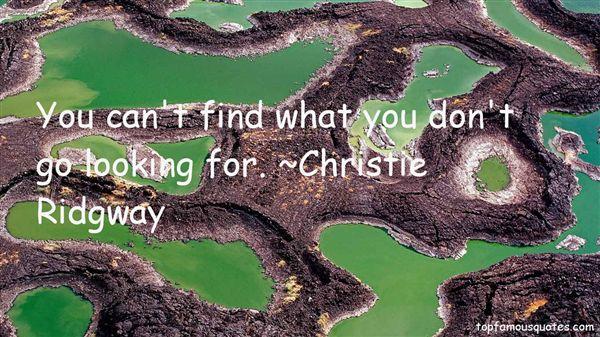 Christie Ridgway Quotes