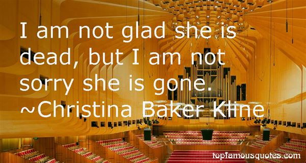 Christina Baker Kline Quotes