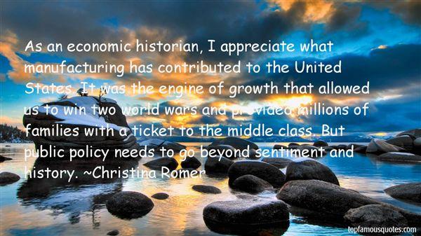 Christina Romer Quotes